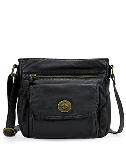 Scarleton Trendy Front Pocket Crossbody Bag H1889