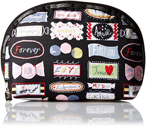 LeSportsac Medium Dome Cosmetic Bag, Sweet Talk, One Size