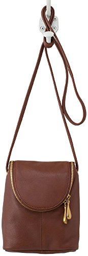 Hobo Supersoft Leather Fern Crossbody Bag – Brandy