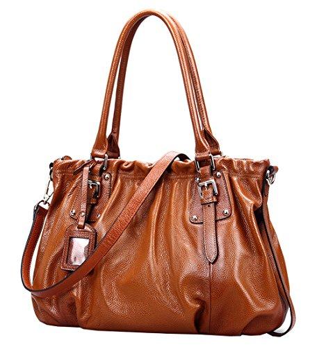 Heshe® Women's New Fashion Tote Top Handle Crossbody Shoulder Bag Purse Handbag