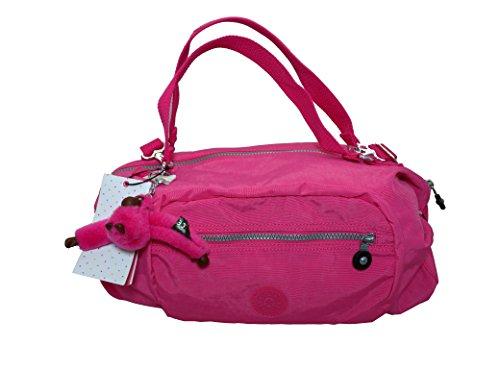 Kipling Jessa – Handbag Shoulder Crossbody Satchel Bag – Hydrangea (Pink) – Color 585 – HB6639