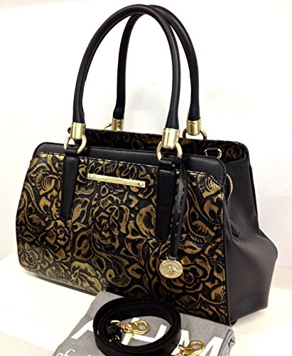 Brahmin Chelsea Gold Rousseau Leather Handbag