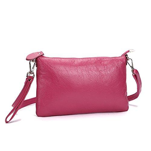 Itslife Women's Genuine Leather Shoulder Cross-body Bag
