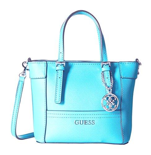 GUESS Women's Delaney Mini Tote Bag, Capri