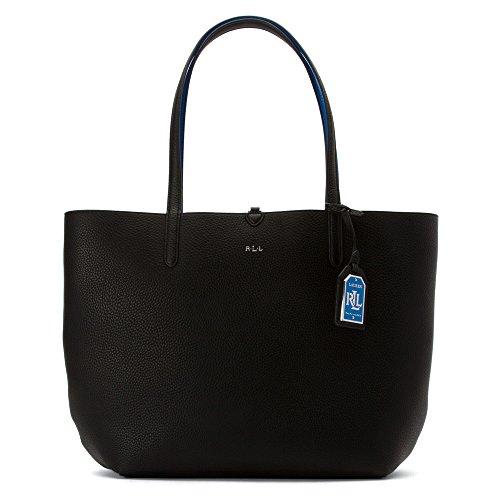 LAUREN Ralph Lauren Women's Milford Olivia Reversible Tote Shoulder Handbag