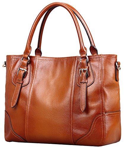 Heshe® Luxury Vintage Structured Shoulder Handbag Cross Body Bag