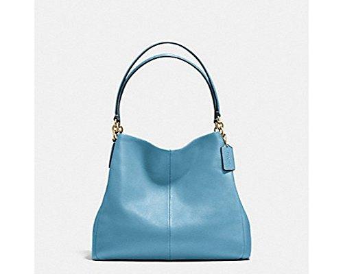 Coach Madison Phoebe Shoulder Bag – Bluejay