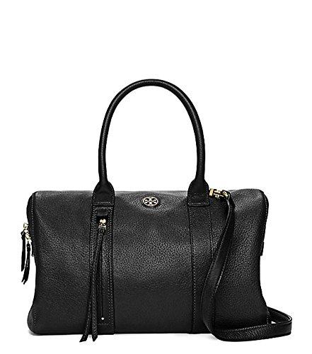 Tory Burch BRODY Small Leather Satchel Handbag, Black