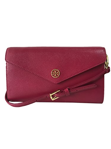 Tory Burch Nwt Robinson Expandable Concierge Cross-body Raspberry