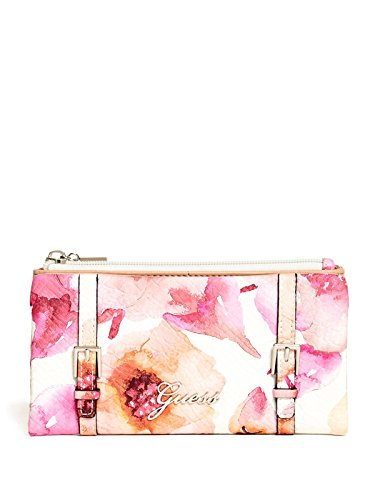 GUESS Women's Lakeview Floral Soft Wallet