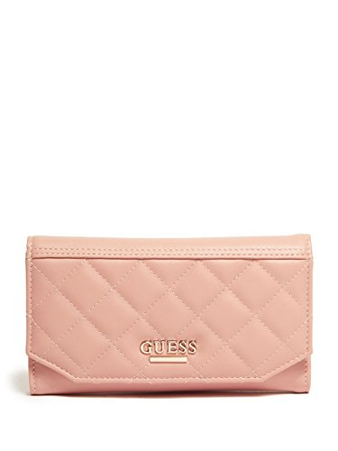 GUESS Women's Elana Quilted Slim Wallet