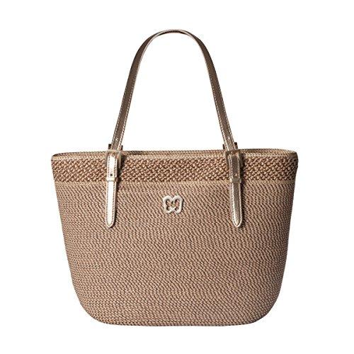 Eric Javits Women's Squishee Jav Handbag One Size (Bark)