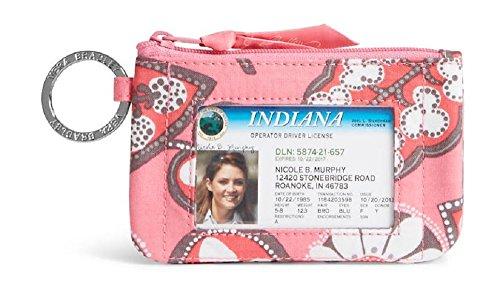 Gorgeous Vera Bradley Zip ID Case in Blush Pink