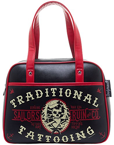 Sourpuss Sailor's Ruin Bowler Purse