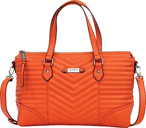 "Jessica Simpson Crossbody ""Brenda"" Papaya Handbag"