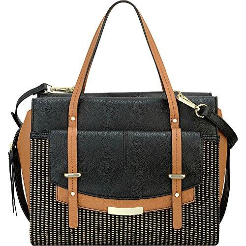 Nine West Handbags Tipping Point Satchel- Woven