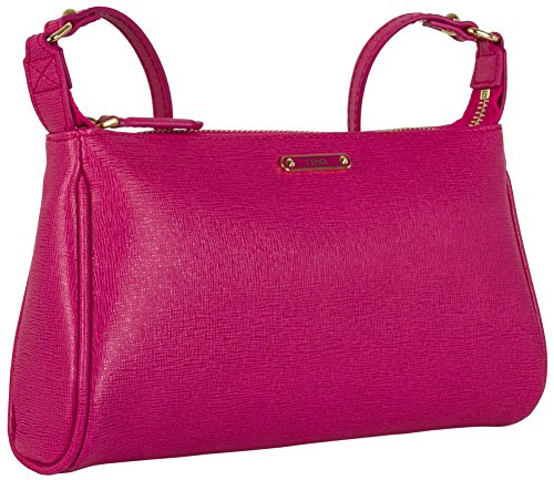 Fendi Mini Pouch Shoulder Bag – Fuchsia