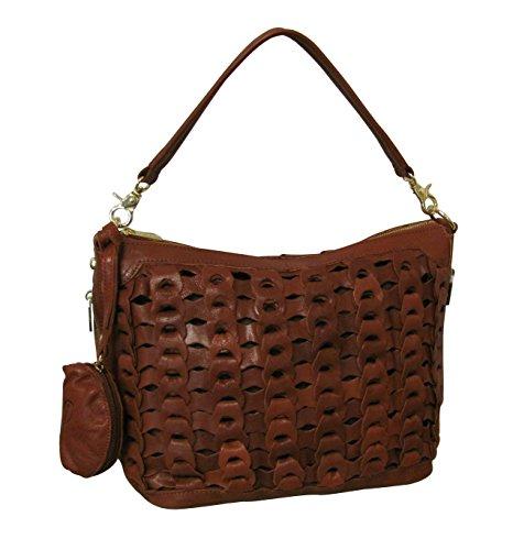 Amerileather Dixie Leather Handbag (#1791-2)