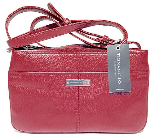 Tignanello Swing Pack Cross Body Oxblood T15071A