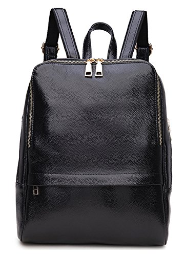 Greeniris Lady Genuine Leather Backpack Fashion Schoolbag Women's Backpack