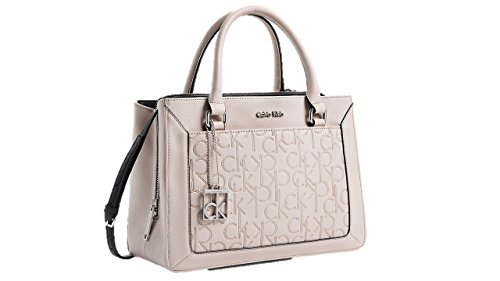 Calvin Klein Women Sadie City Center Zip Carry All Bag Handbag Teaberry