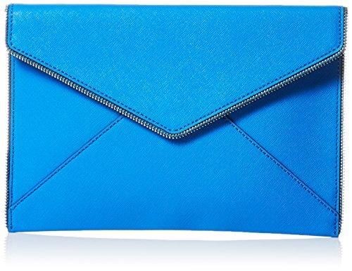 Rebecca Minkoff Leo Envelope Clutch, Grecian Blue, One Size