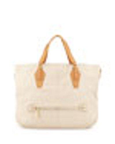 Halston Heritage Convertible Leather Hobo Bag
