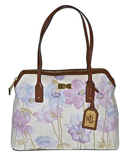 Lauren Ralph Lauren Womens Whitley Dome Satchel Bag Purse