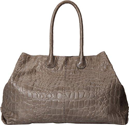 Liebeskind Berlin Chelsea Crocodile Shoulder Bag