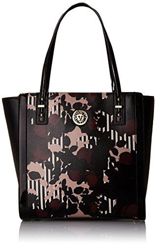 Anne Klein Front Runner Tote Bag, Multi/Black/Black, One Size