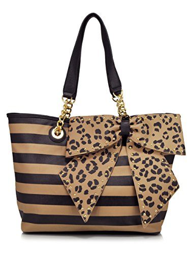 Betsey Johnson BJ50505 Shoulder Bag, Stripe