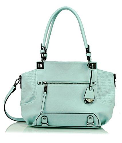 Jessica Simpson Lexie Satchel Shoulder Bag, Seafoam