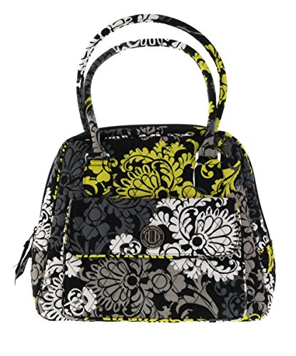 Vera Bradley Turnlock Satchel Handbag in Baroque