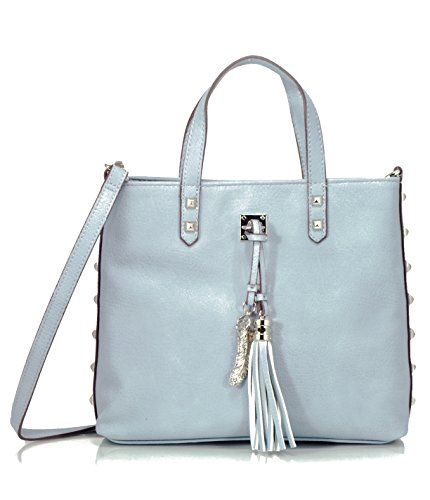 Jessica Simpson Rodica Satchel Crossbody Bag, Chambray