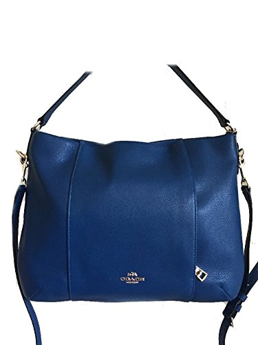 Coach Leather E/W Isabelle Shoulder Bag – Bright Mineral