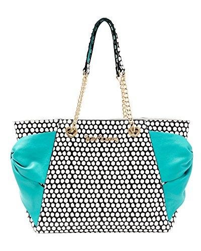 Betsey Johnson BJ59400H Turquoise Hotty Pocket Handbag