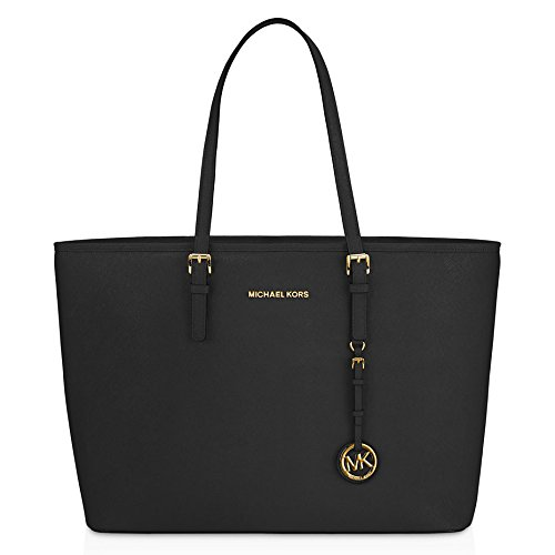 Michael Kors Jet Set Saffiano Leather Travel Macbook Tote