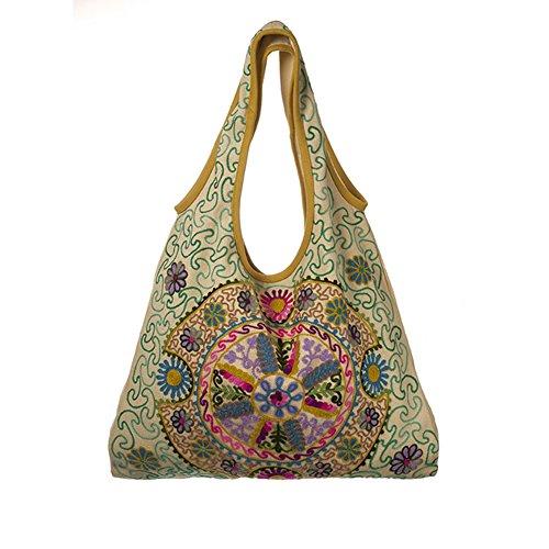 Haddi Embroidered Bag