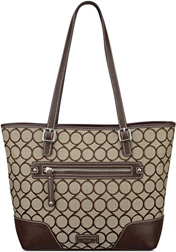 Nine West 9S Jacquard Tote Bag