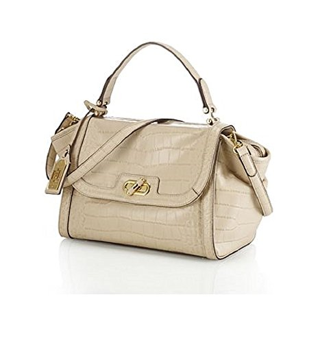LAUREN by Ralph Lauren Lanesborough Convertible Satchel – Stone