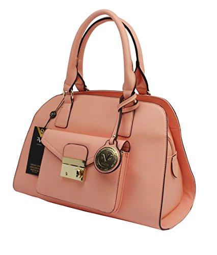 Versace 19V69- Aurora Satchel, Luxury Fashion Women Handbag