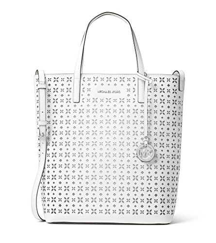 MICHAEL MICHAEL KORS Hayley Large Perforated-Leather Tote Bag