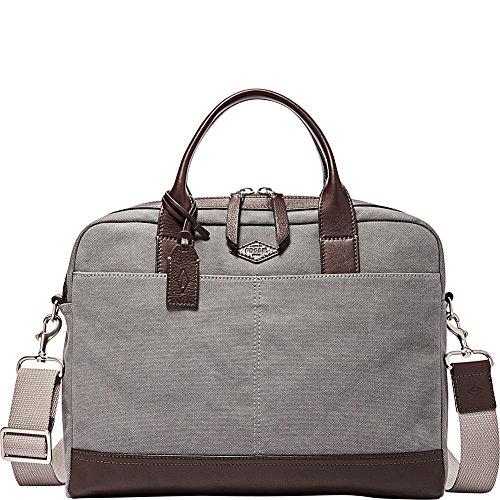 Fossil Wyatt Fabric Grey Workbag
