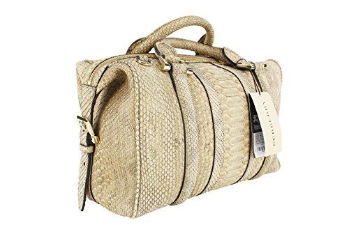Burberry Women's Beige Python Shoulder Bag