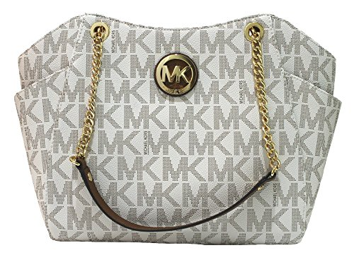 Michael Kors Jet Set Travel Lg Chain Tote – Vanilla