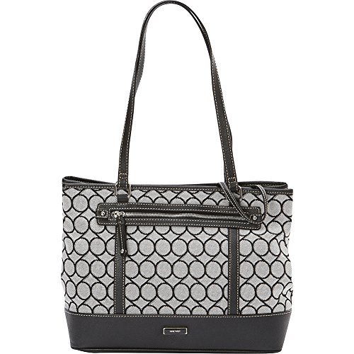 Nine West 9 Jacquard with Wristlet Tote Bag