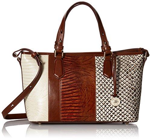 Brahmin Mini Asher Convertible Top Handle Bag
