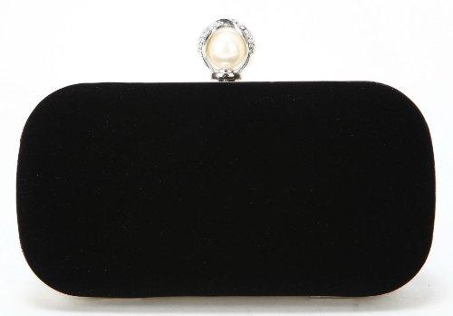 Scarleton Classy Pearl Evening Clutch H3304