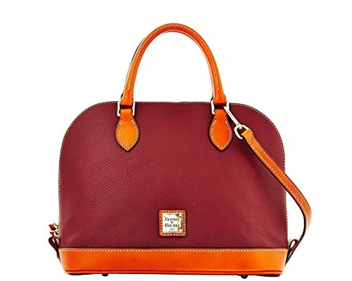 Dooney & Bourke Zip Zip Satchel – Bordeaux
