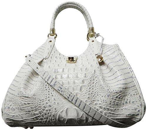 Brahmin Women's Elisa Stonewash Melbourne Leather bag